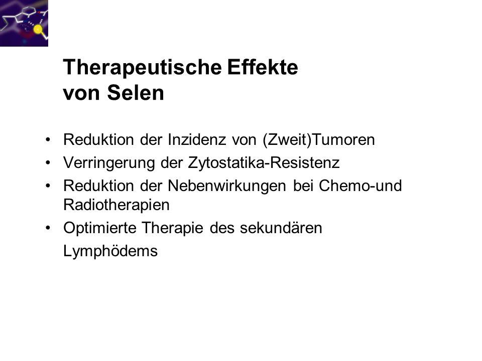 Therapeutische Effekte von Selen