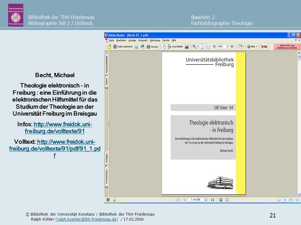Infos: http://www.freidok.uni-freiburg.de/volltexte/91