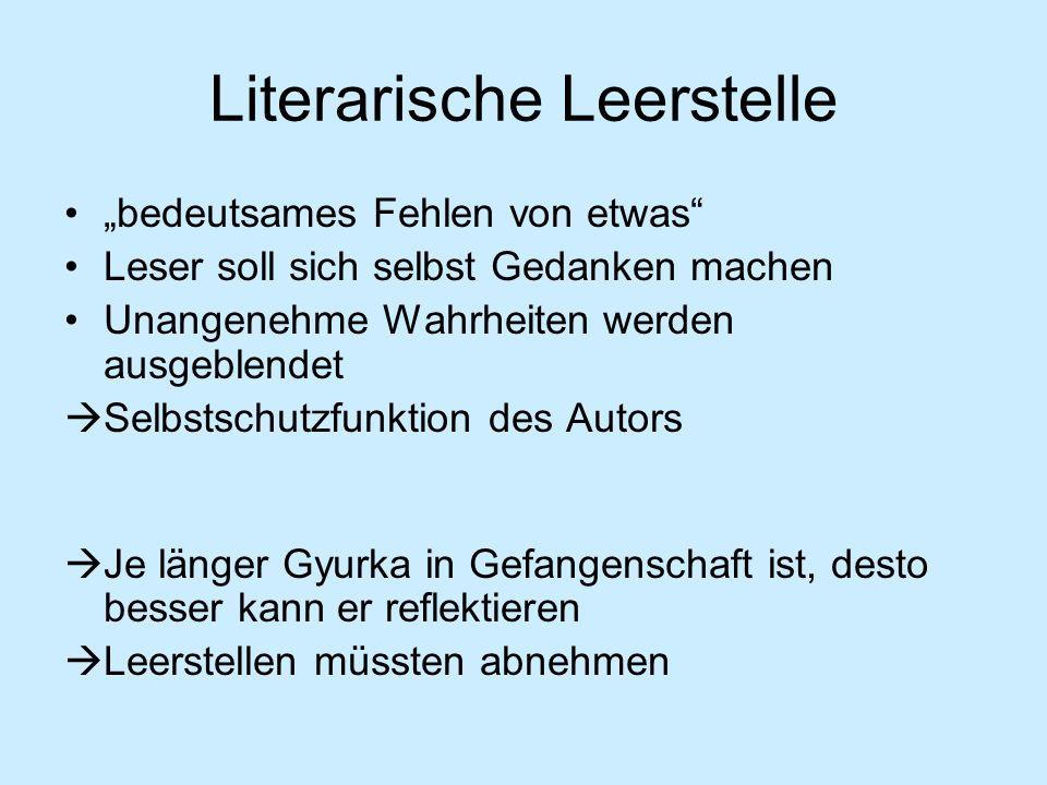 Literarische Leerstelle