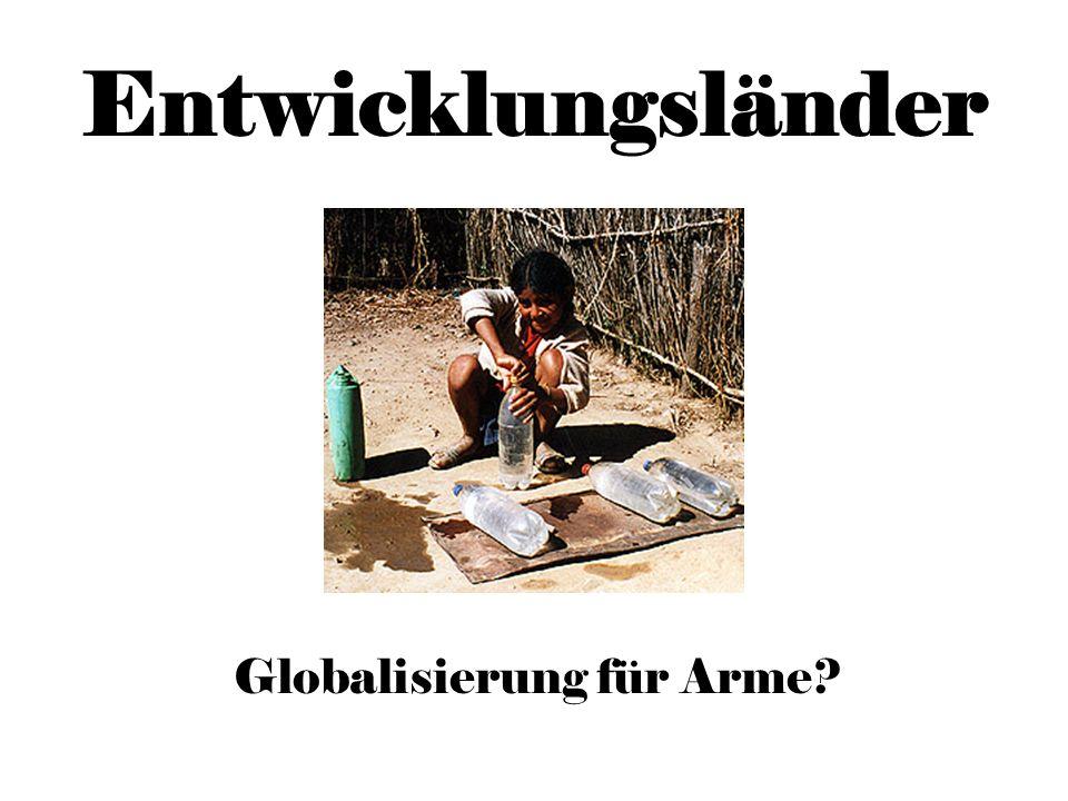 Globalisierung für Arme