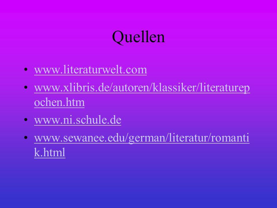 Quellen www.literaturwelt.com