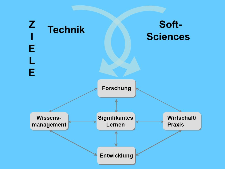 Z I Technik E L Soft-Sciences Forschung Wissens- management