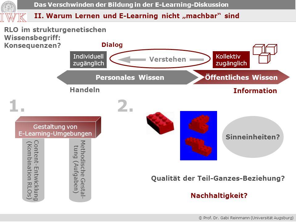 E-Learning-Umgebungen