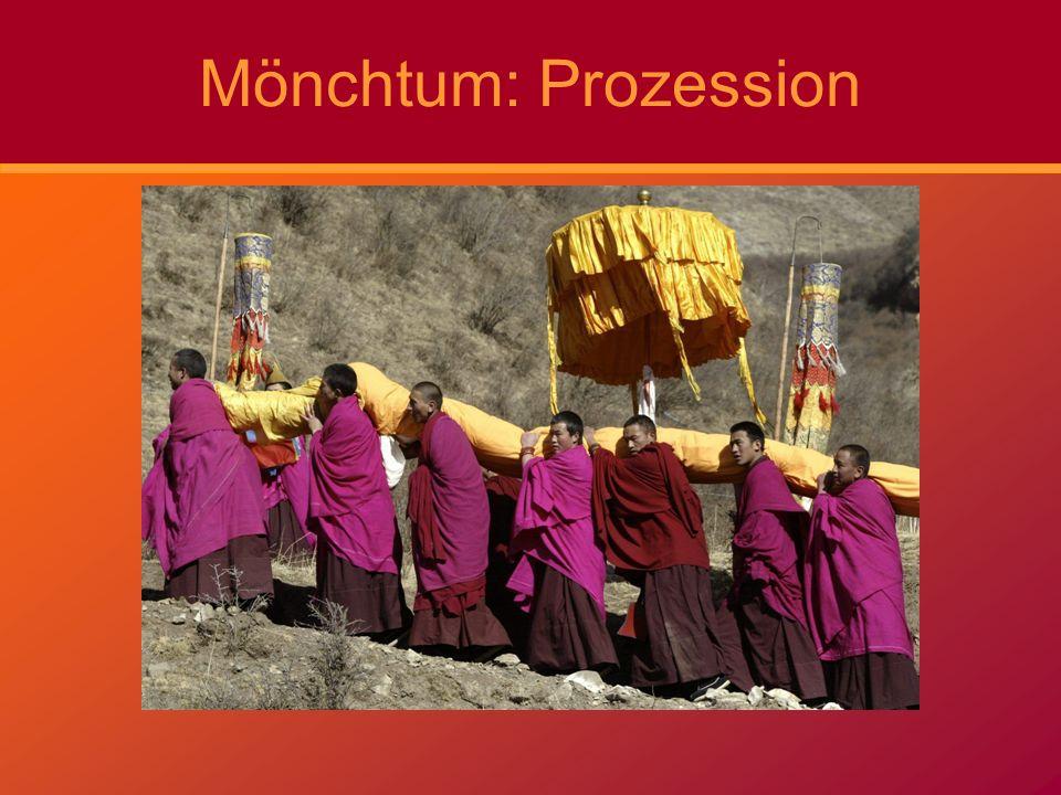Mönchtum: Prozession