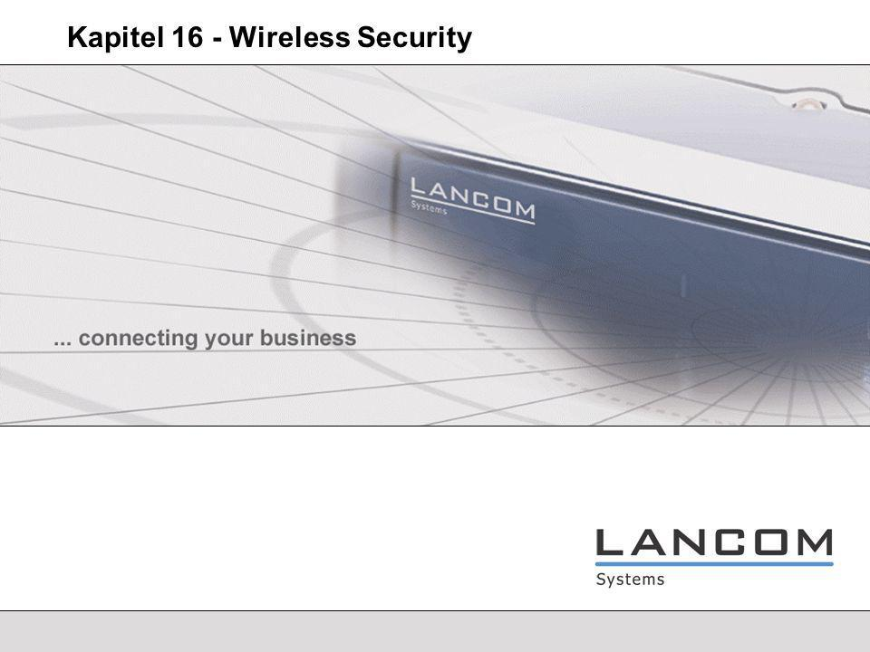 Kapitel 16 - Wireless Security