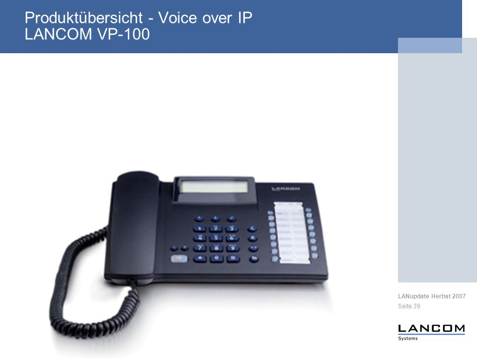 Produktübersicht - Voice over IP LANCOM VP-100