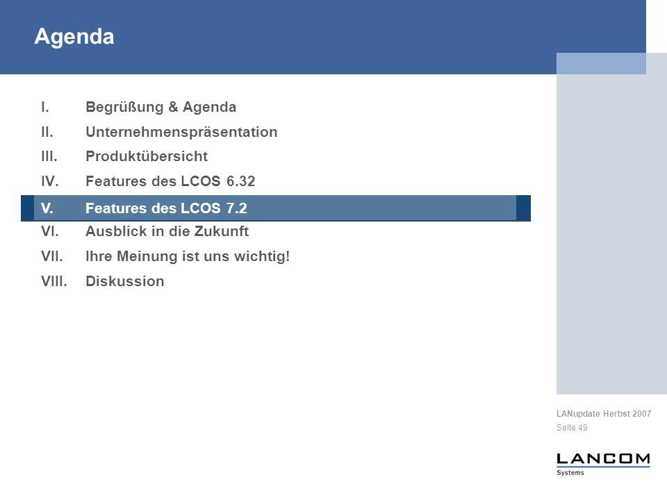 Agenda Begrüßung & Agenda Unternehmenspräsentation Produktübersicht
