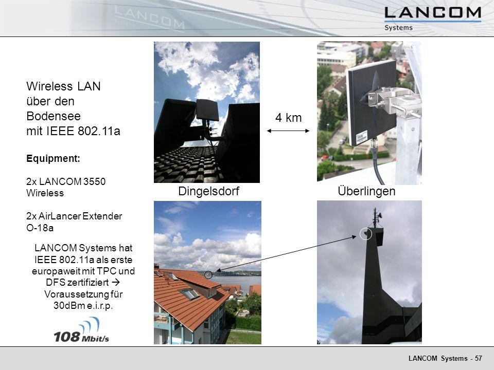 Wireless LAN über den Bodensee