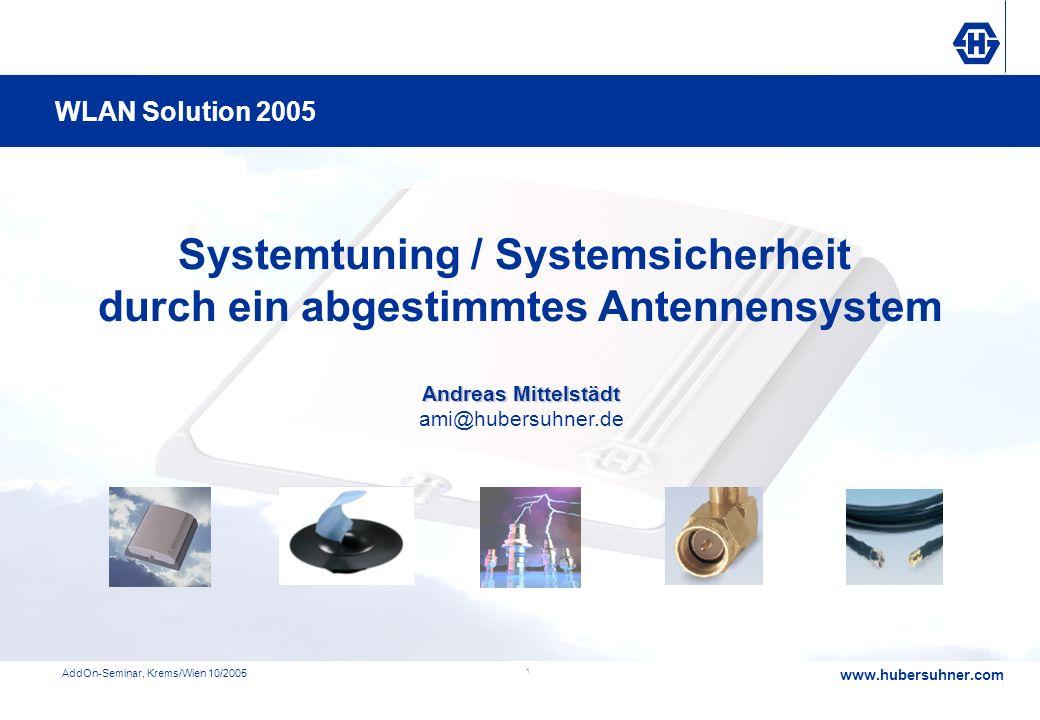 Systemtuning / Systemsicherheit durch ein abgestimmtes Antennensystem