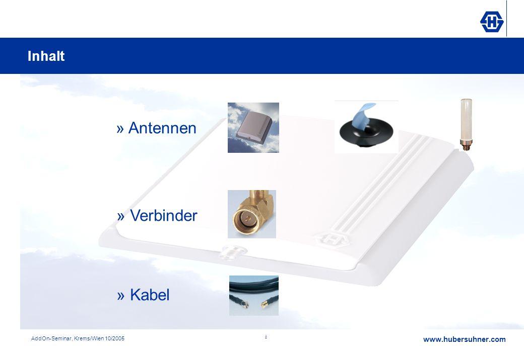 » Antennen » Verbinder » Kabel Inhalt