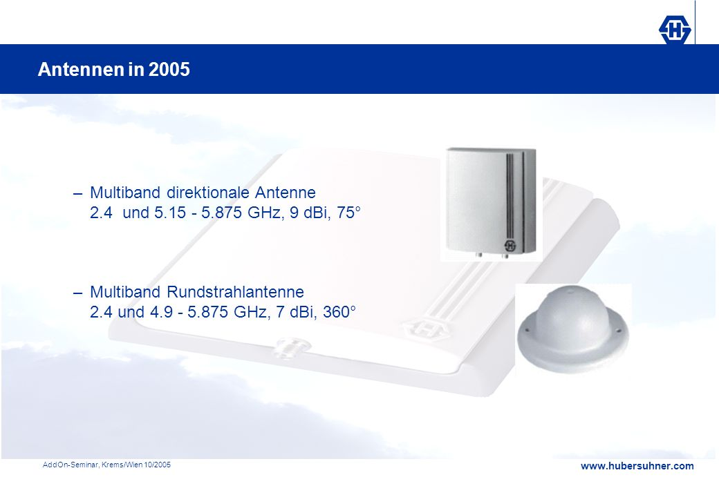 Antennen in 2005 Multiband direktionale Antenne