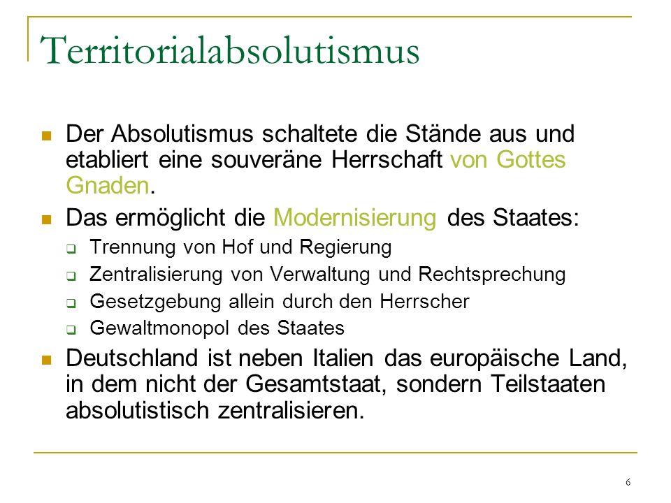 Territorialabsolutismus