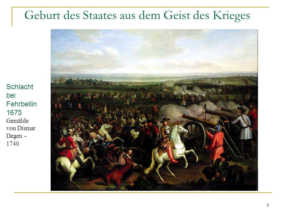 Geburt des Staates aus dem Geist des Krieges