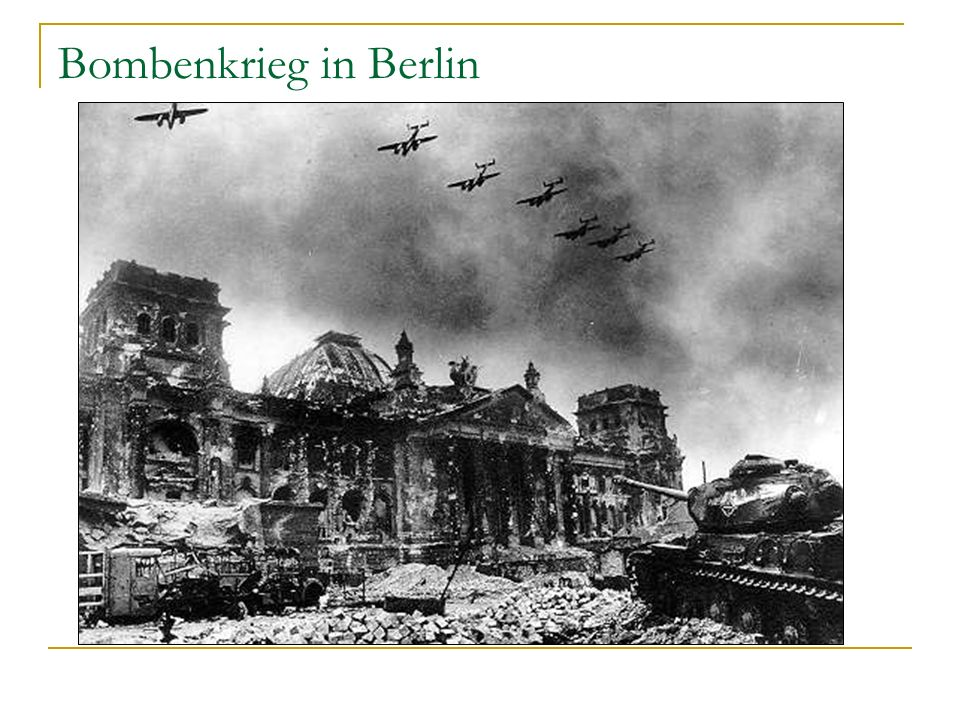 Bombenkrieg in Berlin