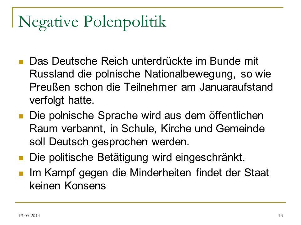 Negative Polenpolitik