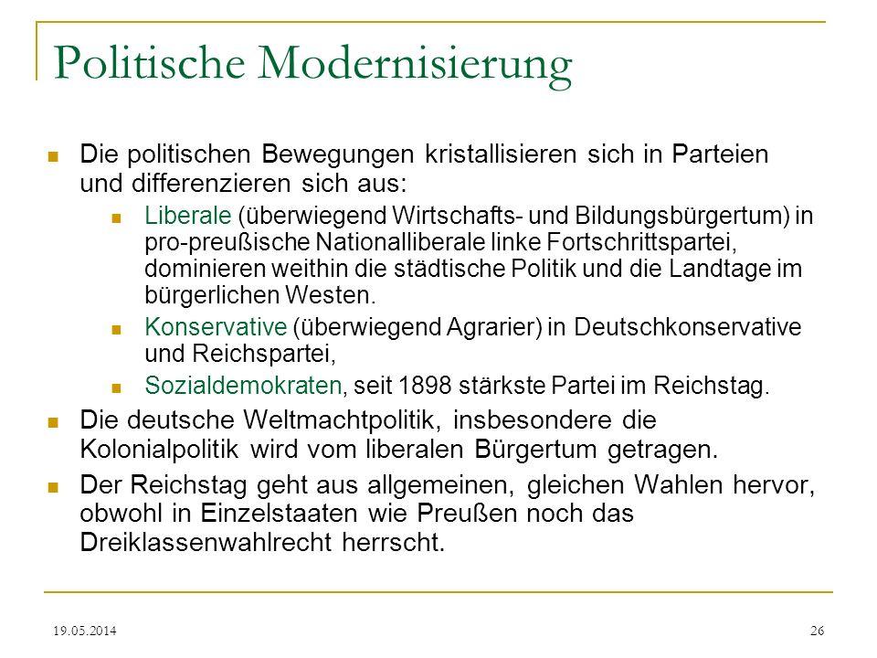 Politische Modernisierung