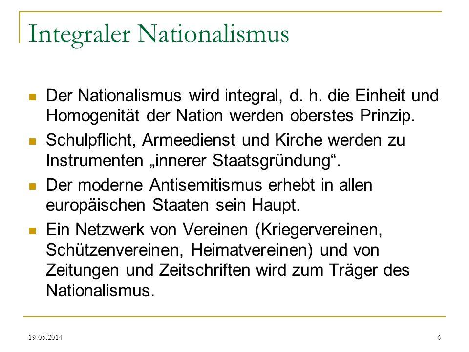 Integraler Nationalismus