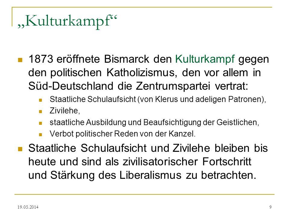 """""""Kulturkampf"""
