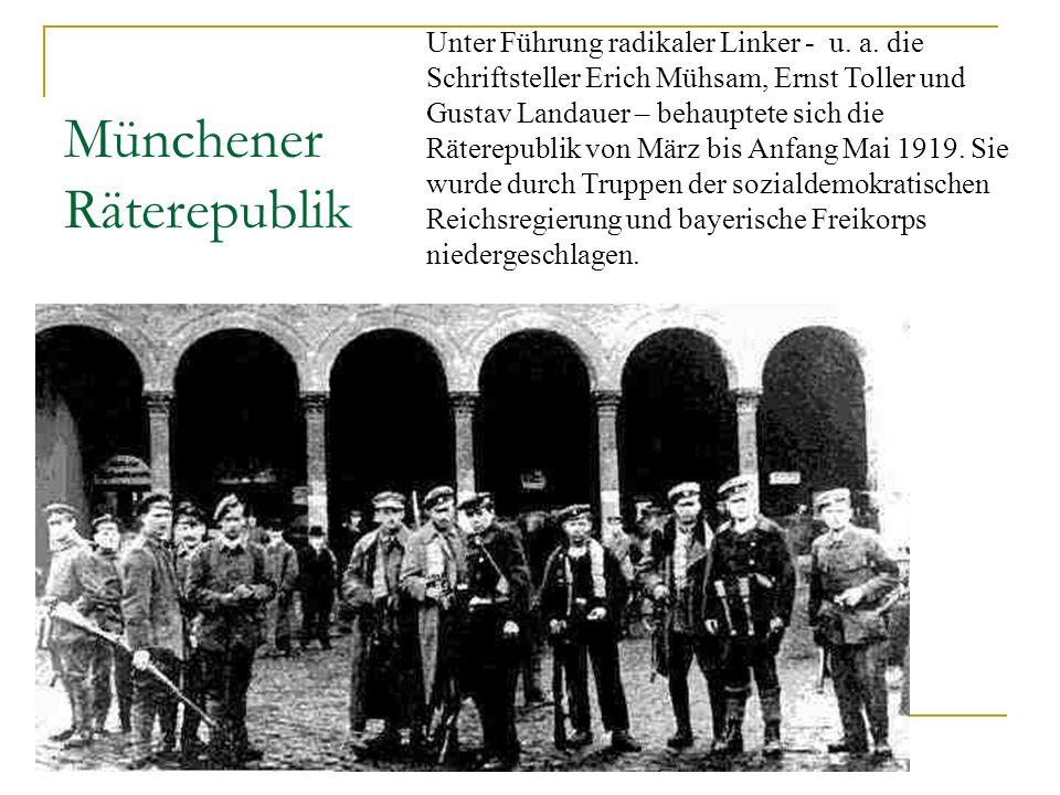 Münchener Räterepublik