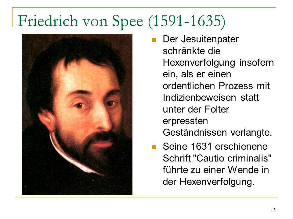 Friedrich von Spee (1591-1635)