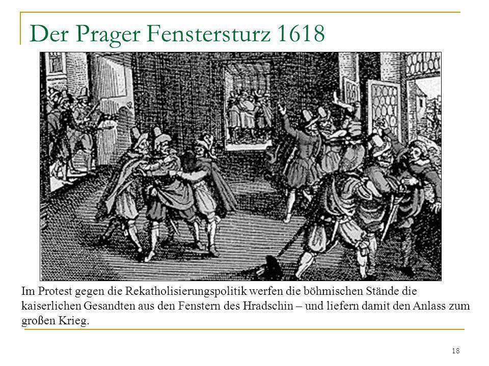 Der Prager Fenstersturz 1618