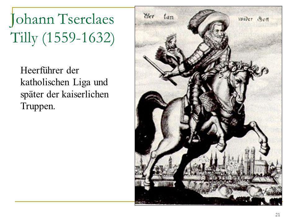 Johann Tserclaes Tilly (1559-1632)