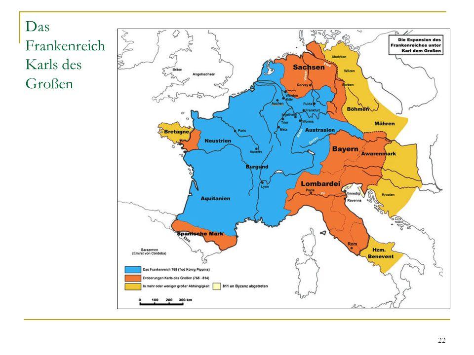 Das Frankenreich Karls des Großen