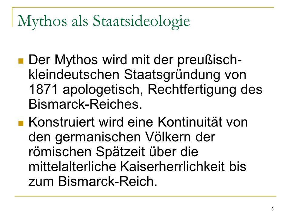 Mythos als Staatsideologie