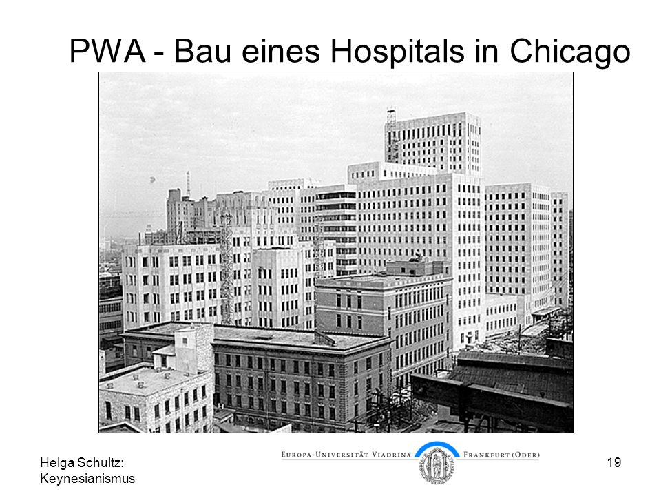 PWA - Bau eines Hospitals in Chicago
