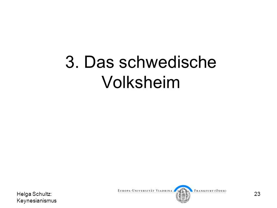3. Das schwedische Volksheim