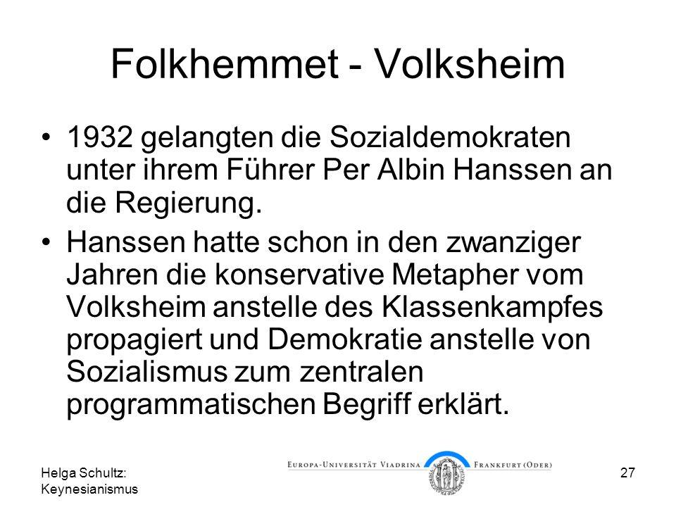 Folkhemmet - Volksheim