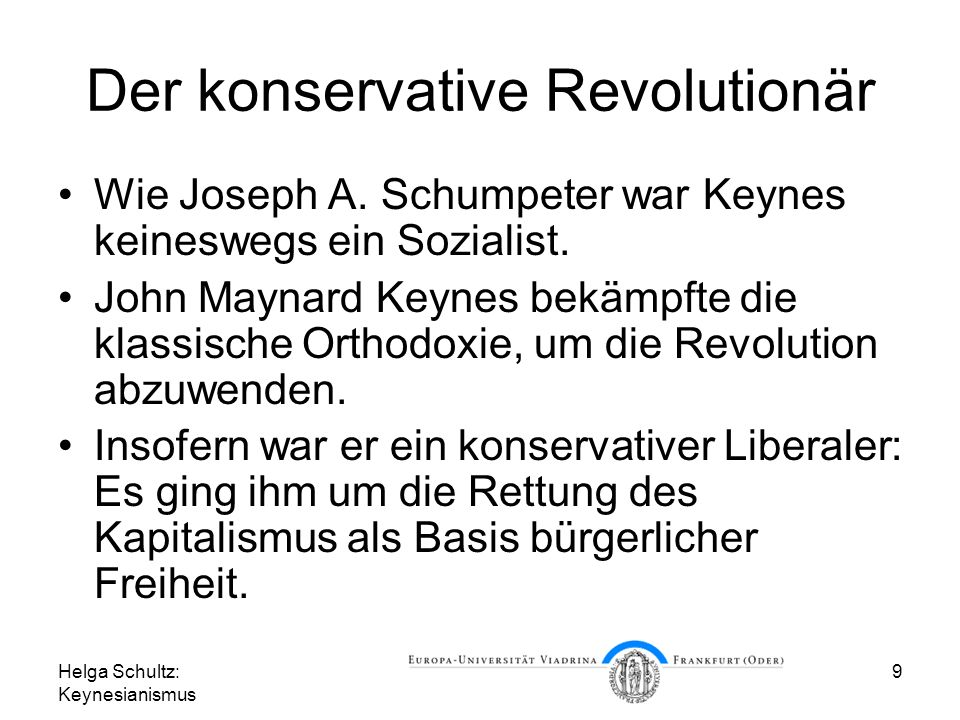 Der konservative Revolutionär