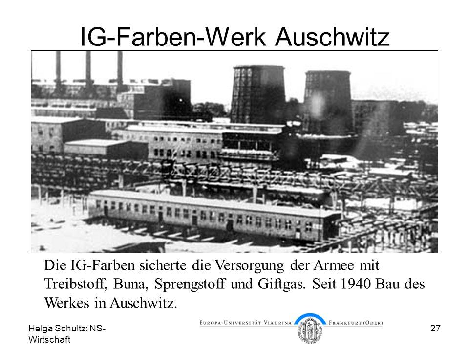 IG-Farben-Werk Auschwitz
