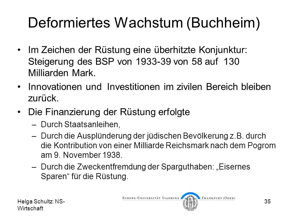 Deformiertes Wachstum (Buchheim)