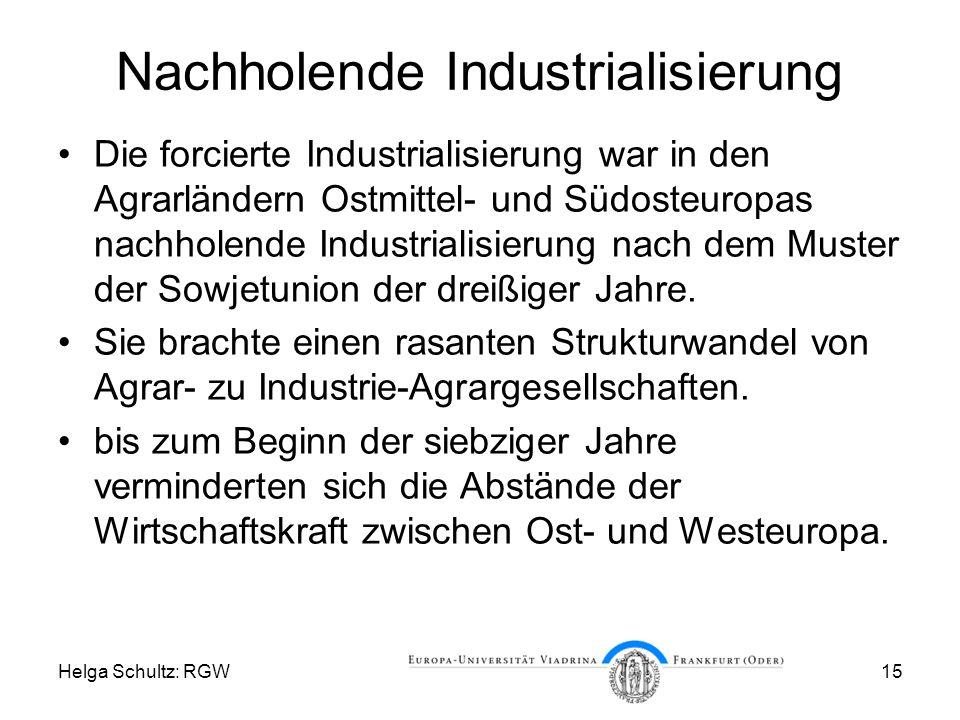Nachholende Industrialisierung