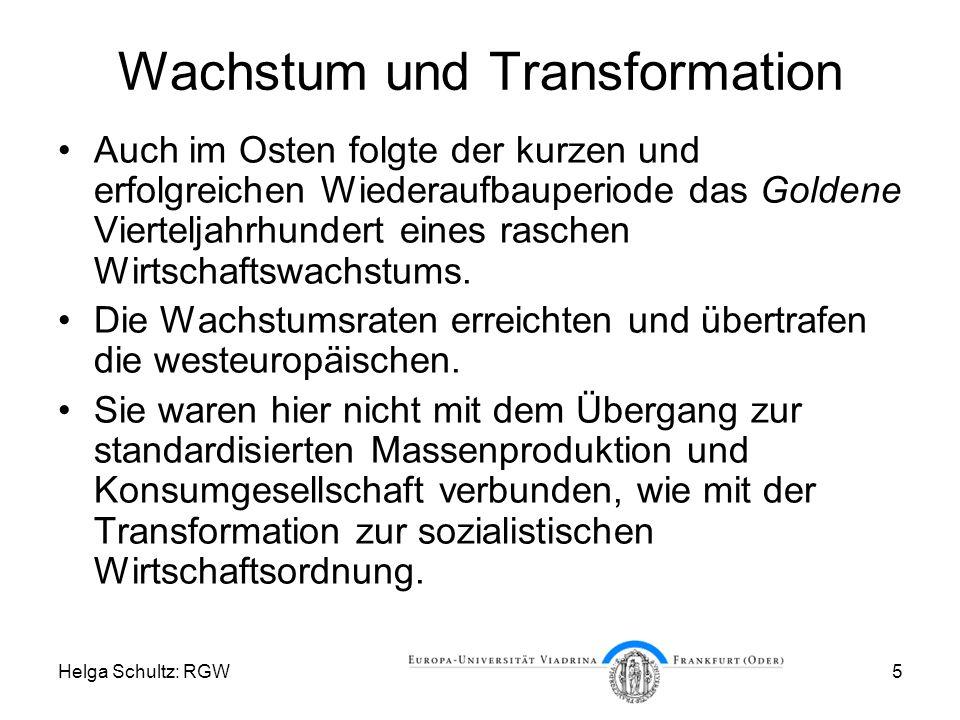 Wachstum und Transformation