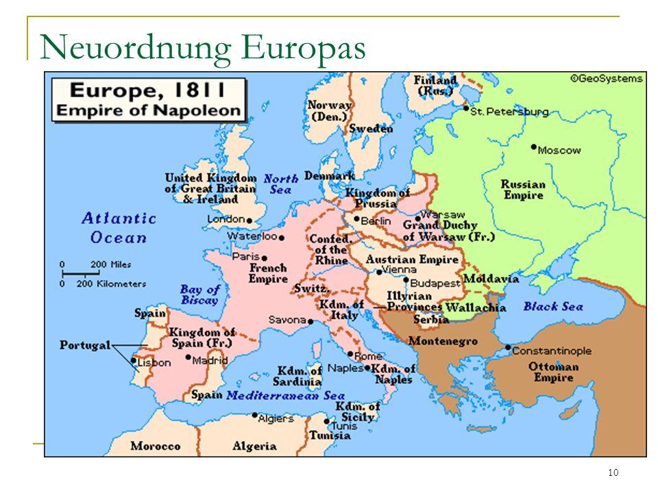 Neuordnung Europas