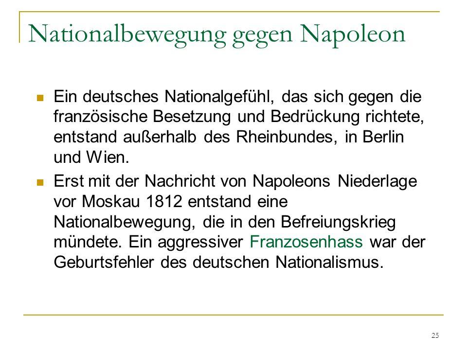 Nationalbewegung gegen Napoleon