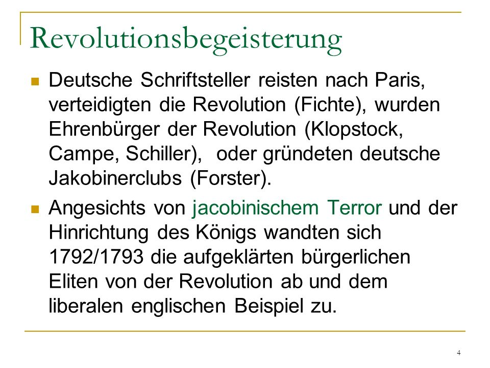 Revolutionsbegeisterung