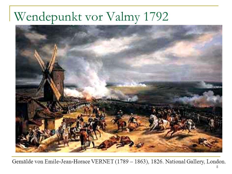 Wendepunkt vor Valmy 1792