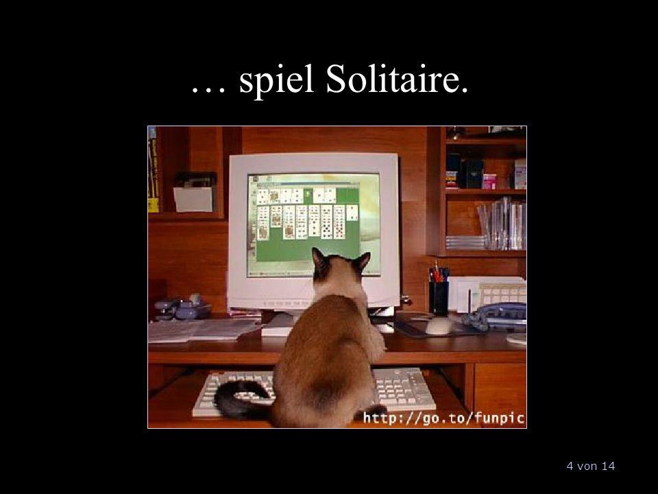 … spiel Solitaire. 4 von 14