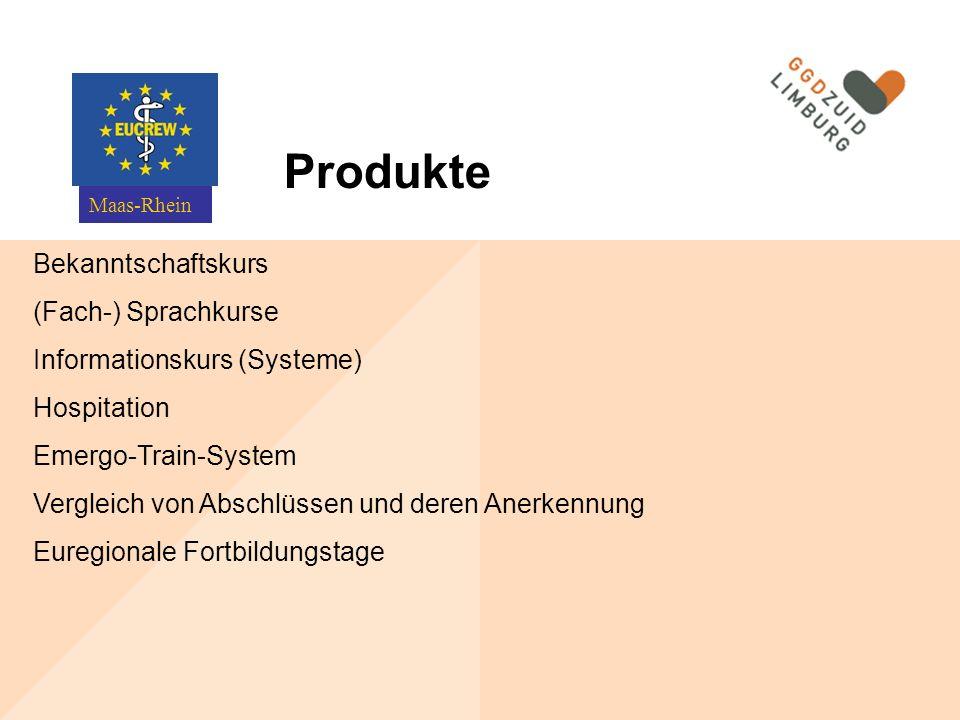 Produkte Bekanntschaftskurs (Fach-) Sprachkurse