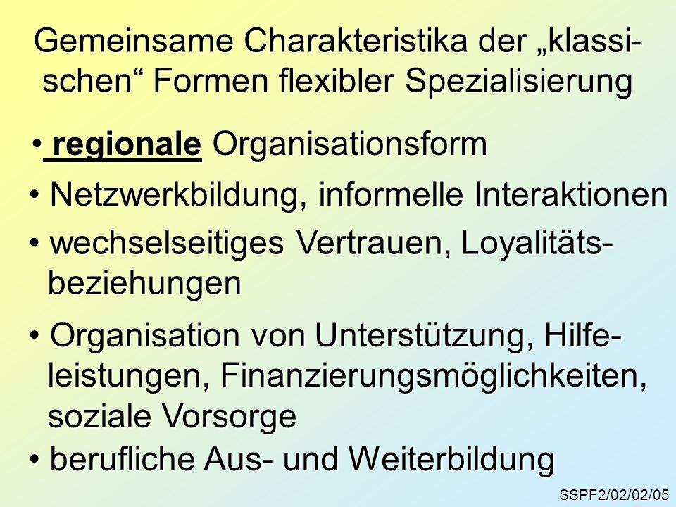 regionale Organisationsform