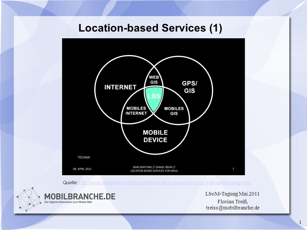 Location-based Services (1)