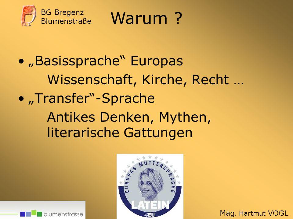 """Warum """"Basissprache Europas Wissenschaft, Kirche, Recht …"""