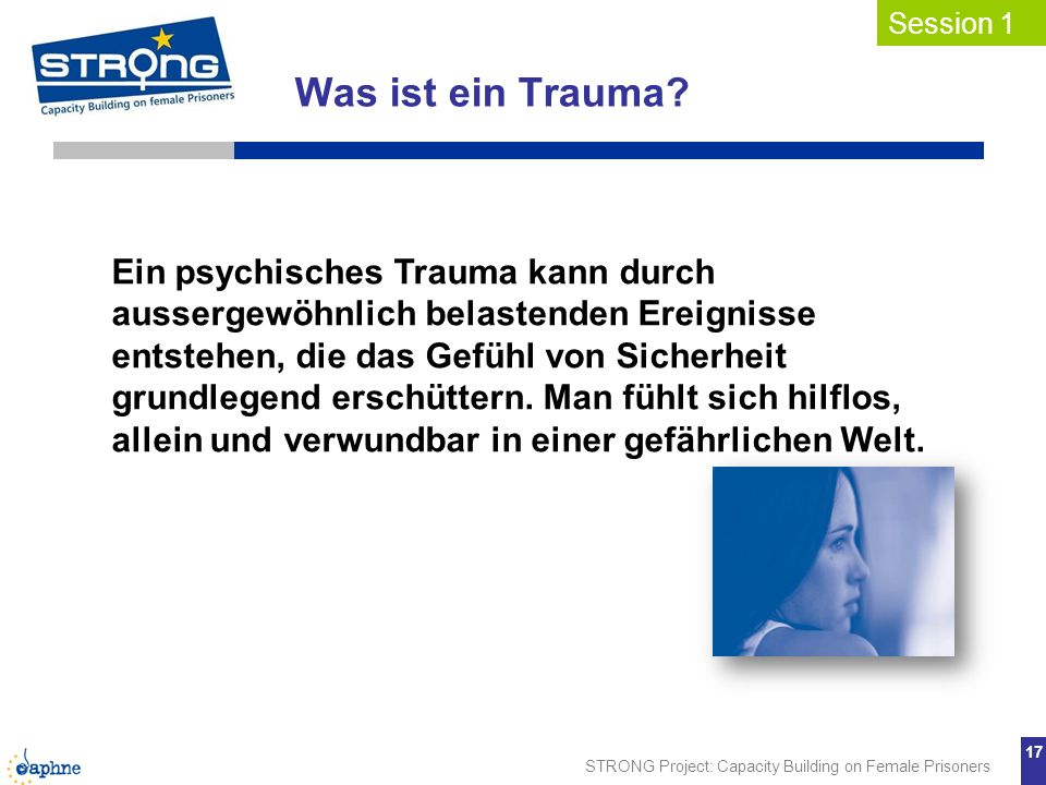 Was ist ein Trauma Session 1.