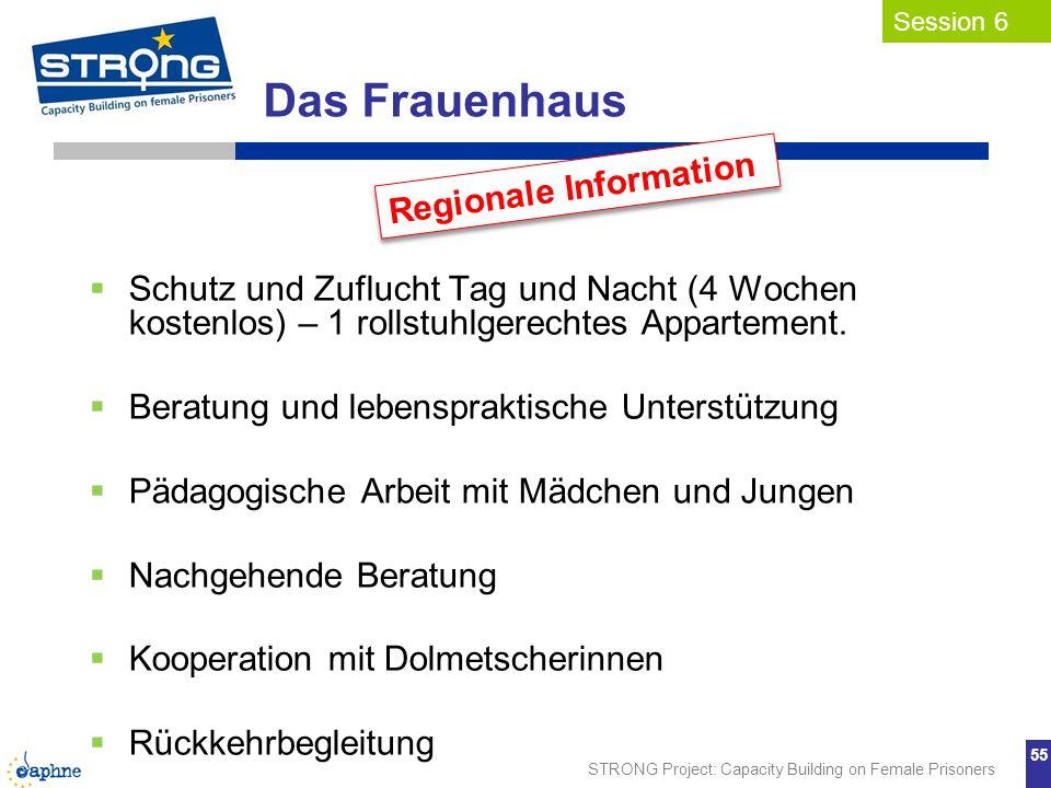 Das Frauenhaus Regionale Information