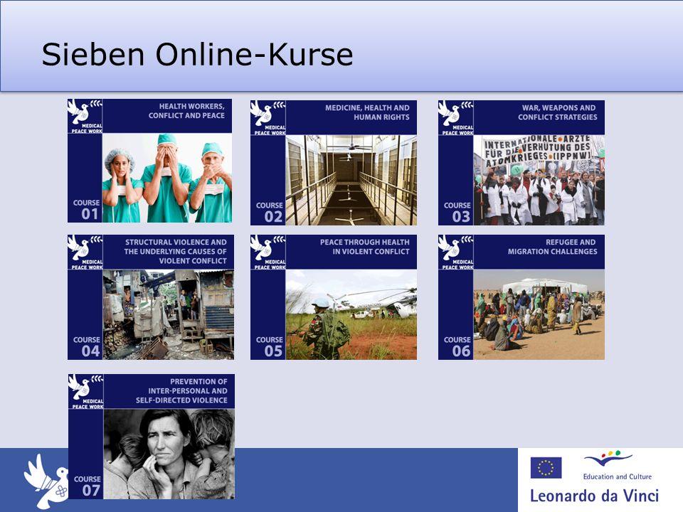 Sieben Online-Kurse