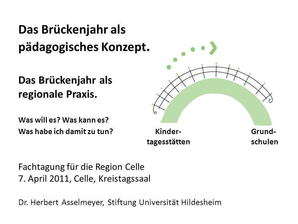 Das Brückenjahr als pädagogisches Konzept