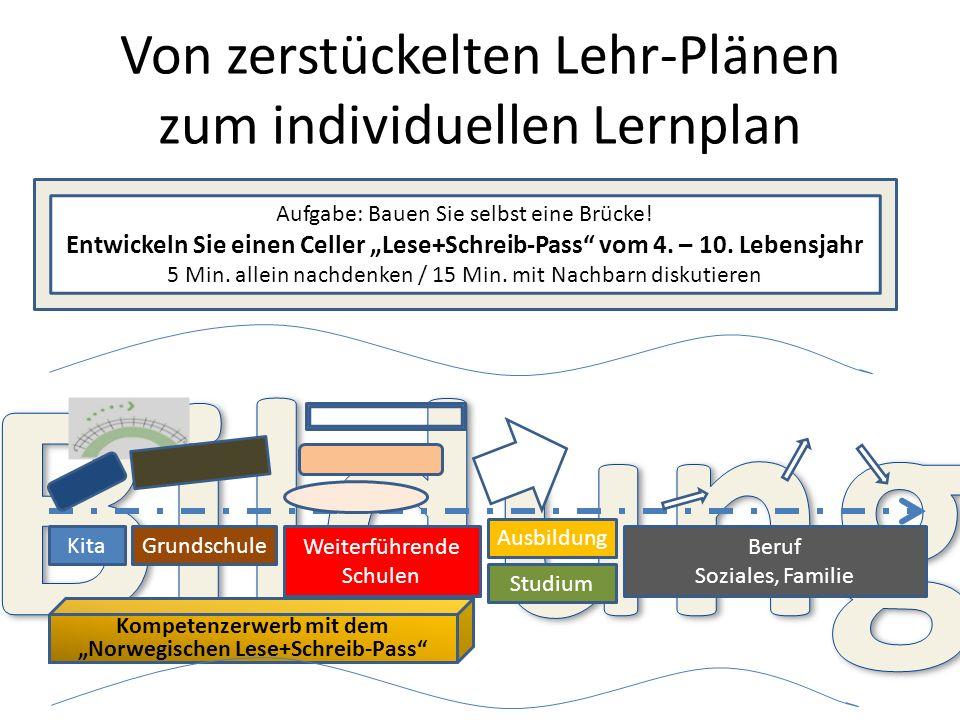 Von zerstückelten Lehr-Plänen zum individuellen Lernplan